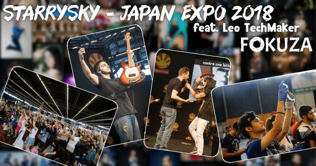 Concert de StarrySky en Photo - Japan Expo 2018